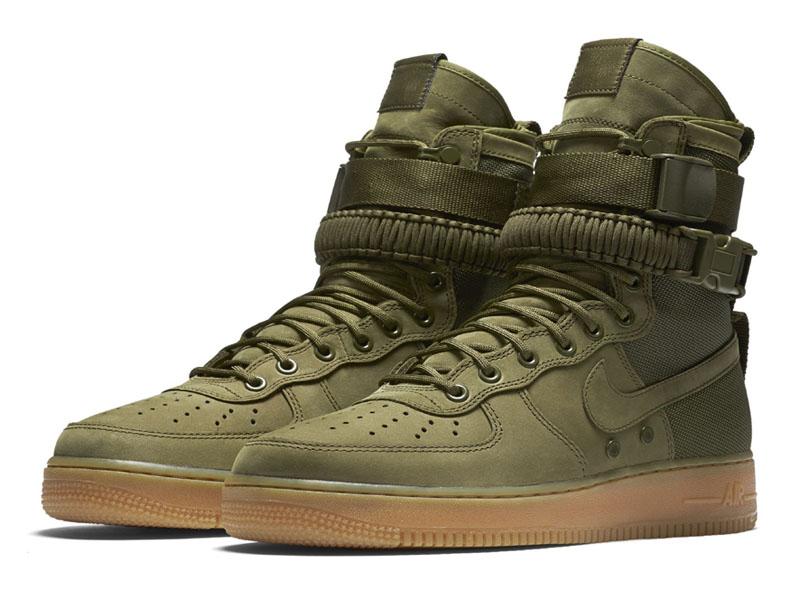 256b9404 Кроссовки Nike Air Force 1 Special Field зеленые мужские - купить в ...