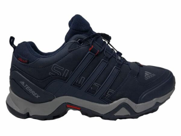 Зимние Adidas Terrex Traxion Low темно-синие