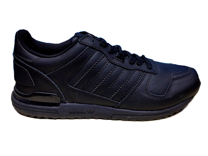 2ca09b44 Купить кроссовки Adidas ZX 700 черные кожаные - мужские и женские