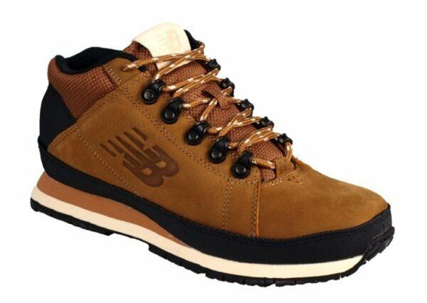 Кроссовки New Balance 754 кожаные светло-коричневые (40-45)