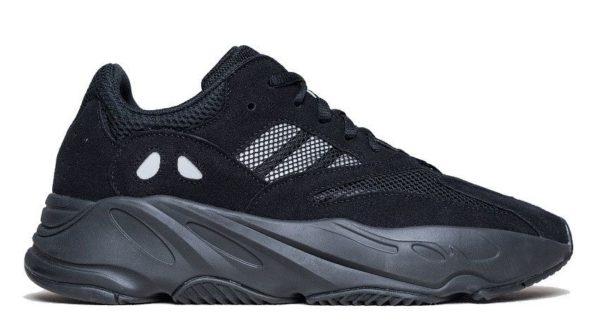 Adidas Yeezy Boost 700 black черные (35-44)