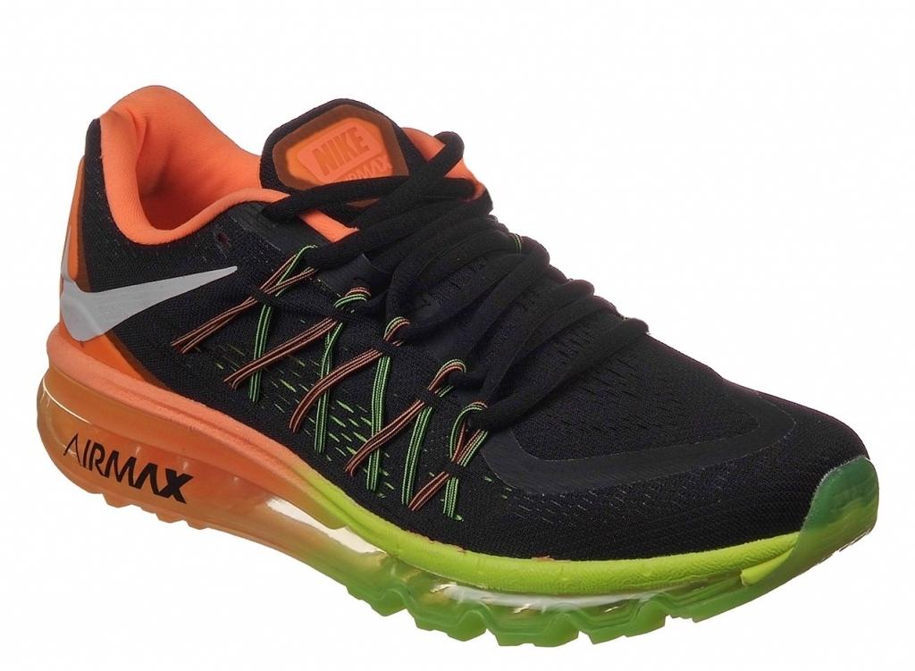 909208b5 Nike Air Max 2015 черные с оранжевым (39-45) — купить в Санкт ...