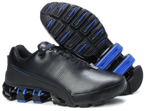 Adidas Porsche Design P'5000 leather черные с синим (39-44)