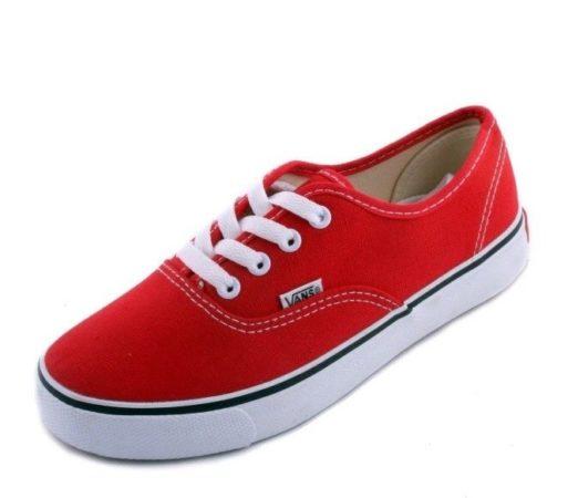 Красные кеды Vans