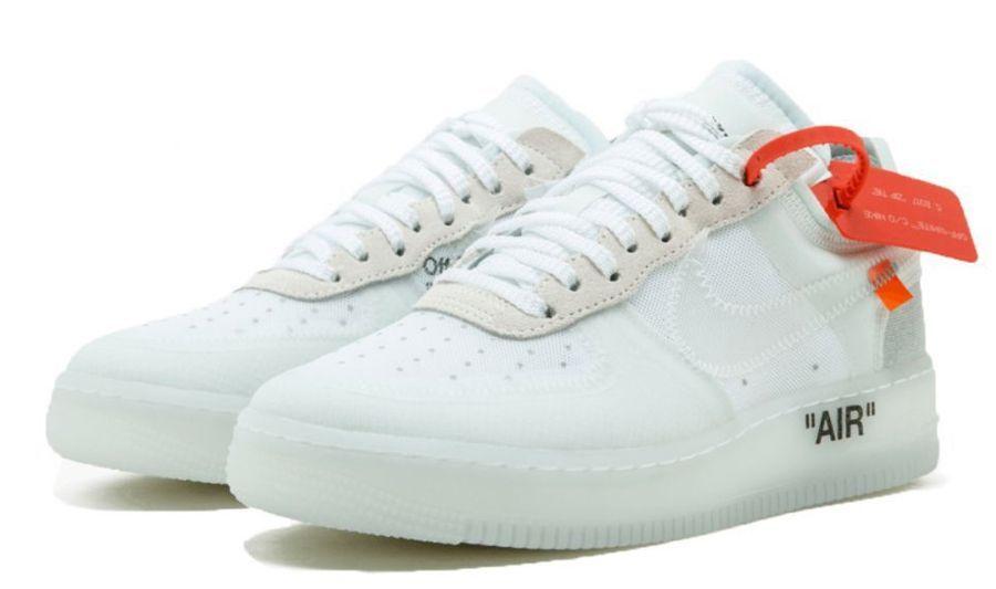 e57dc761 Nike Air Force 1 OFF-WHITE x white белые (40-45) — купить в Санкт ...