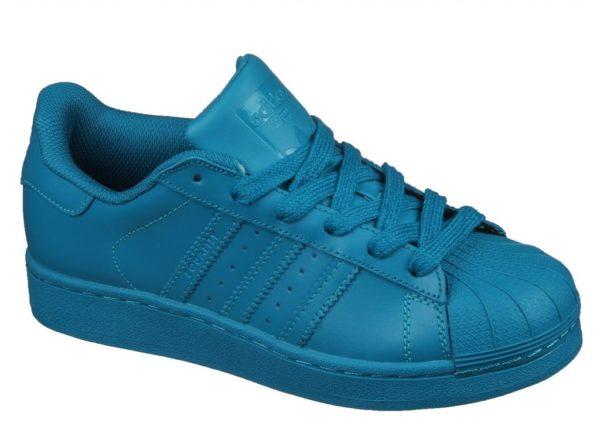 Adidas Superstar бирюзовые (35-39). Адидас Суперстар.
