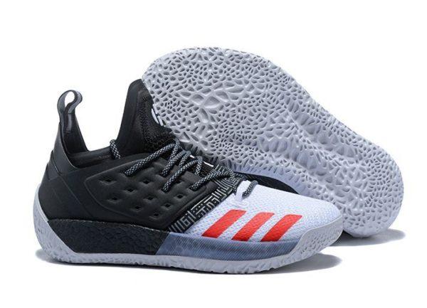 Adidas Harden Vol.2 черные с серым и красным (40-45)