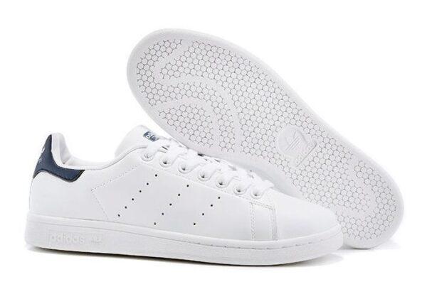 Adidas Stan Smith белые с синим (40-44)