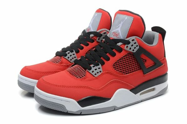 Air Jordan 4 Retro красные (35-45)