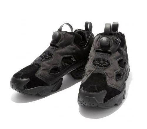 Beauty Youth x Reebok Insta Pump (Black) черные (40-44)