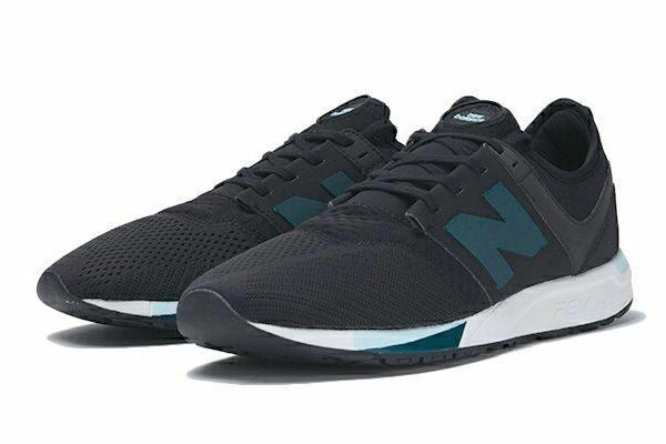 New Balance 247 черные с синим (39-43)