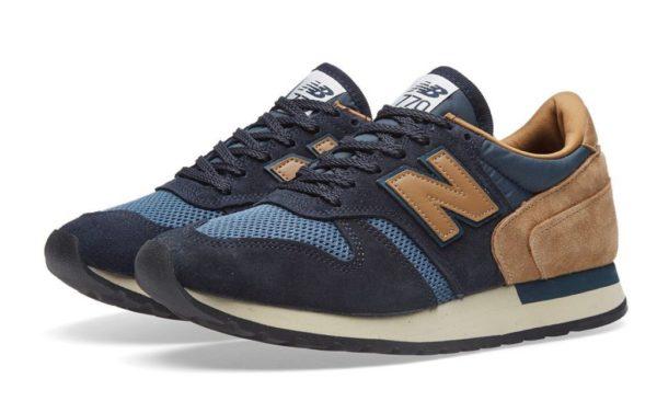 New Balance 770 синие с бежевым (40-44)