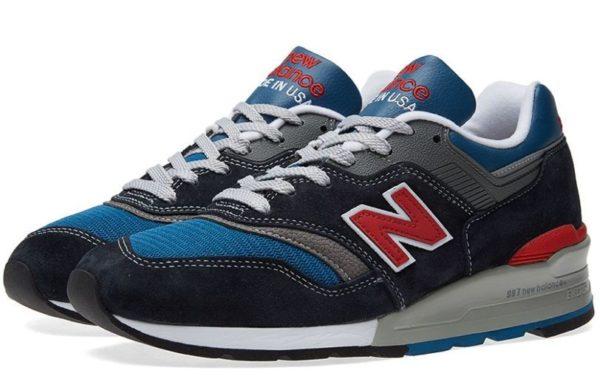New Balance 997 синие с красным (40-43)