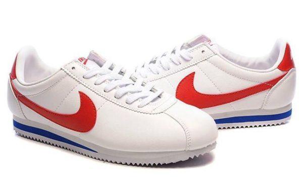 Nike Cortez белые с красным 40-45