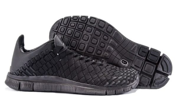 Nike Free Inneva Woven (Black) черные (39-43)