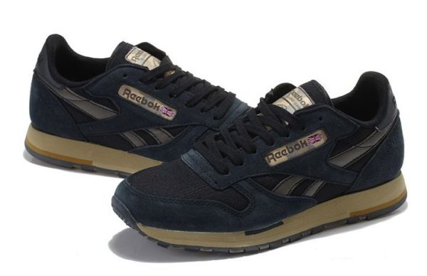 Reebok Classic Leather Utility темно-синие (39-44)