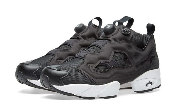 Reebok Insta Pump (White/Black) черно-белые (35-44)