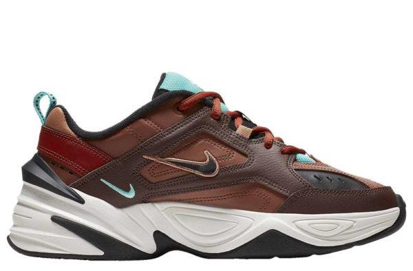 Nike m2k tekno бордовые 35-44