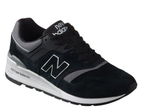 Кроссовки New Balance 997 черные (40-44)