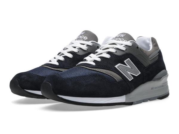 Кроссовки New Balance 997 темно-синие (40-44)