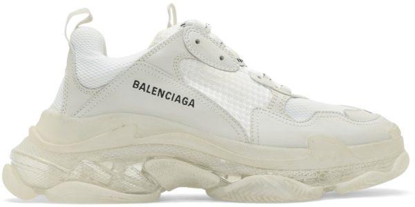 Белые кроссовки Balenciaga