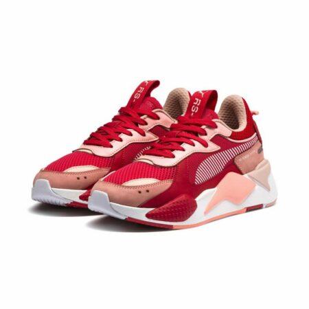 Красные кроссовки Puma